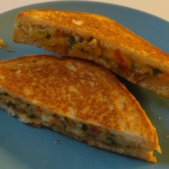 Cheesy Veg Sandwich